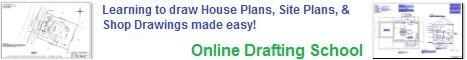Learning to draw House Plans, Site Plans, and Shop Drawings made easy!